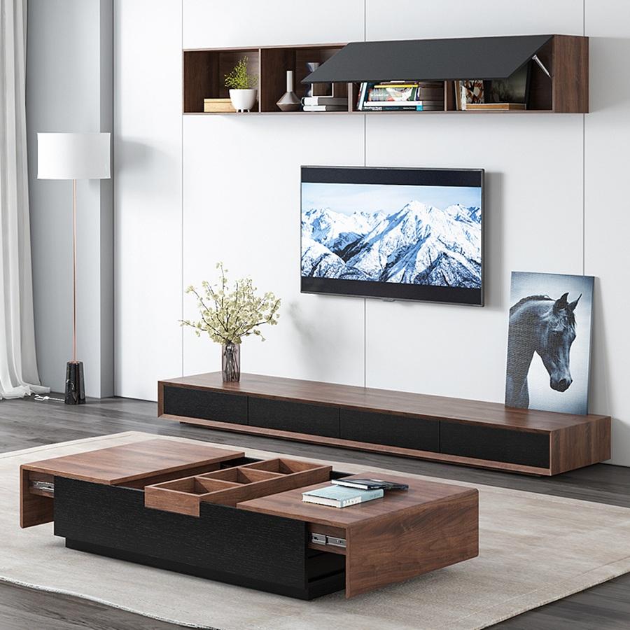 华府板材定制电视柜案例