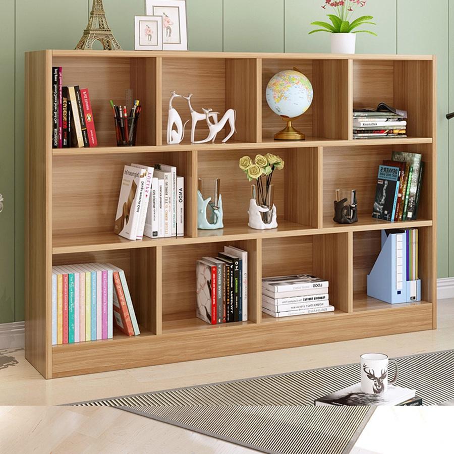 华府板材定制书柜案例
