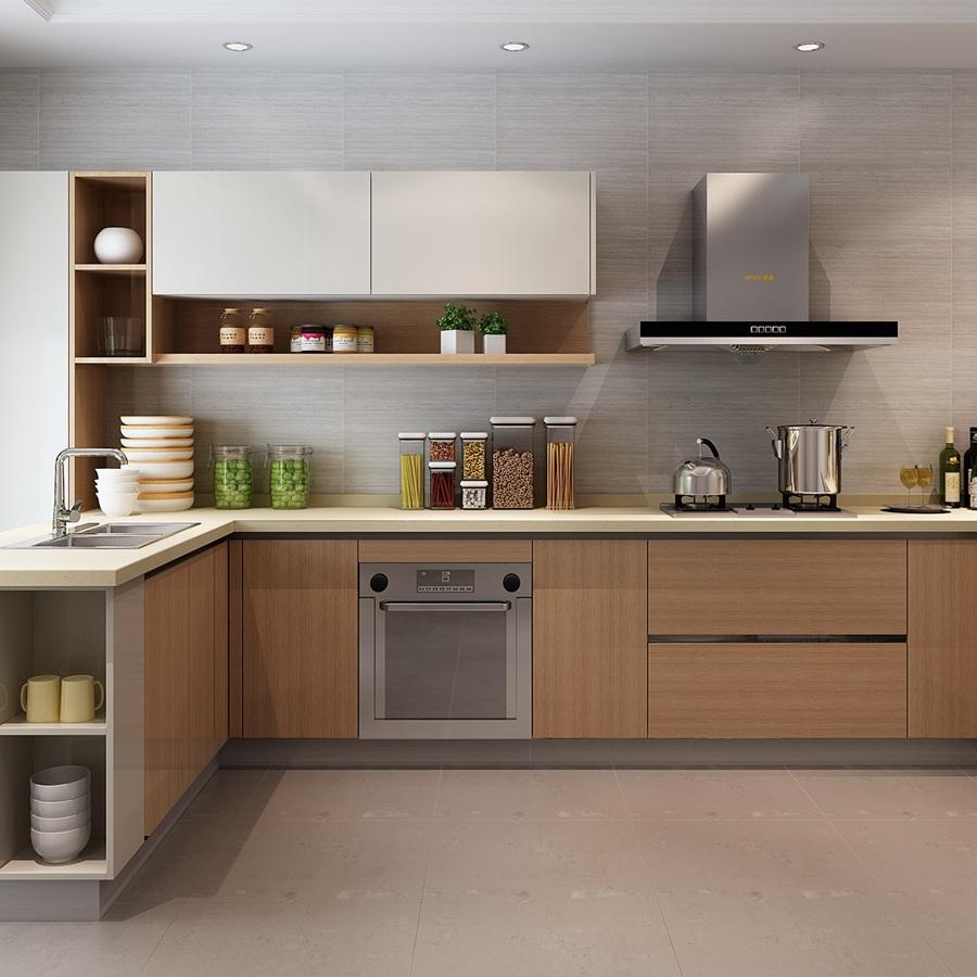 华府板材定制厨柜案例
